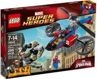 76016 Человек-паук: Спасение на вертолете Человека-паука Конструктор ЛЕГО Супергерои