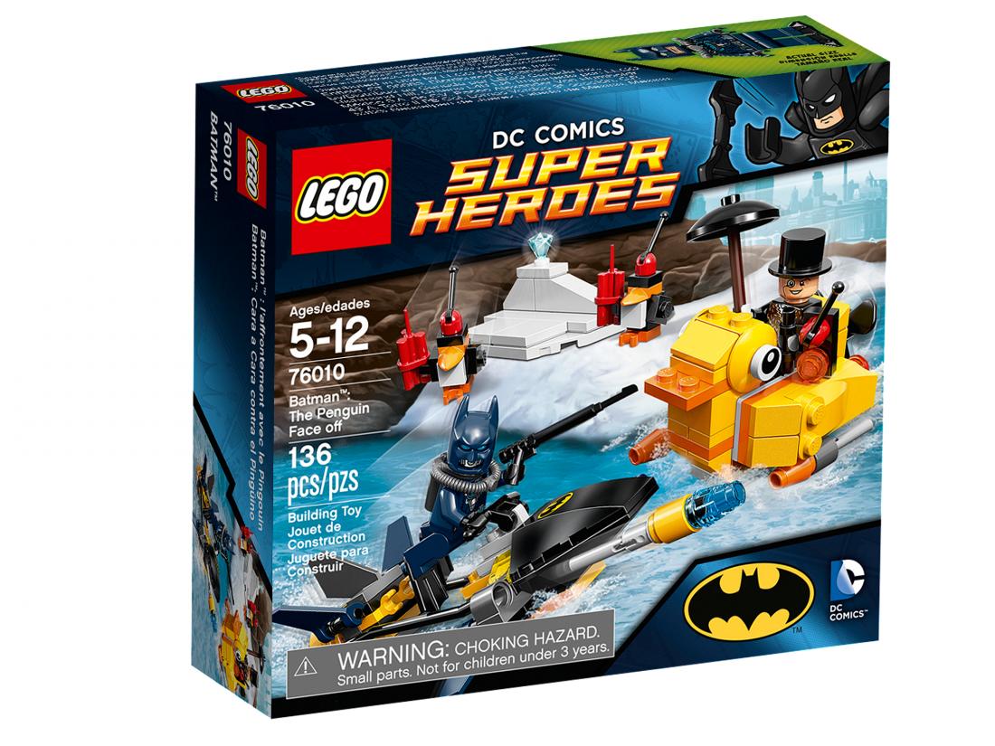 76010 Бэтмен: Пингвин теряет лицо Конструктор ЛЕГО Супергерои