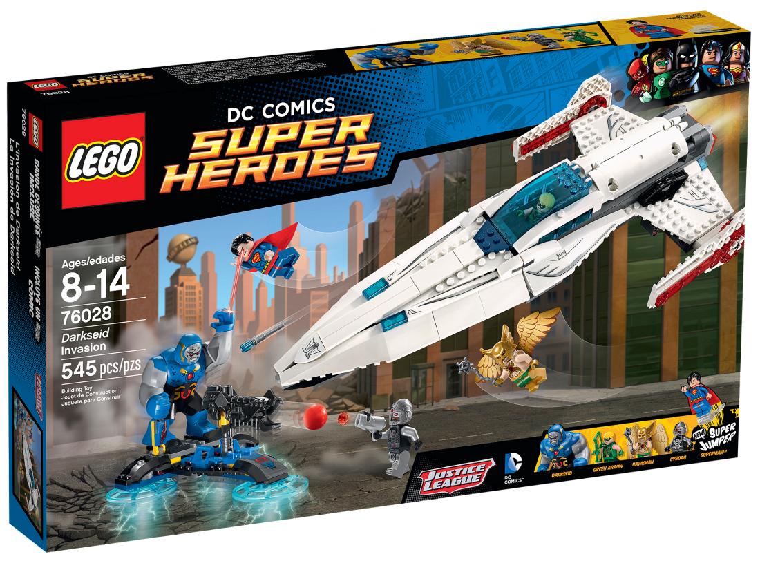 76028 Супермэн: Нашествие Дарксайда Конструктор ЛЕГО Супергерои