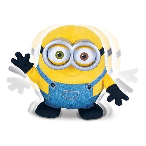 Миньон Боб. Плюшевая анимационная игрушка