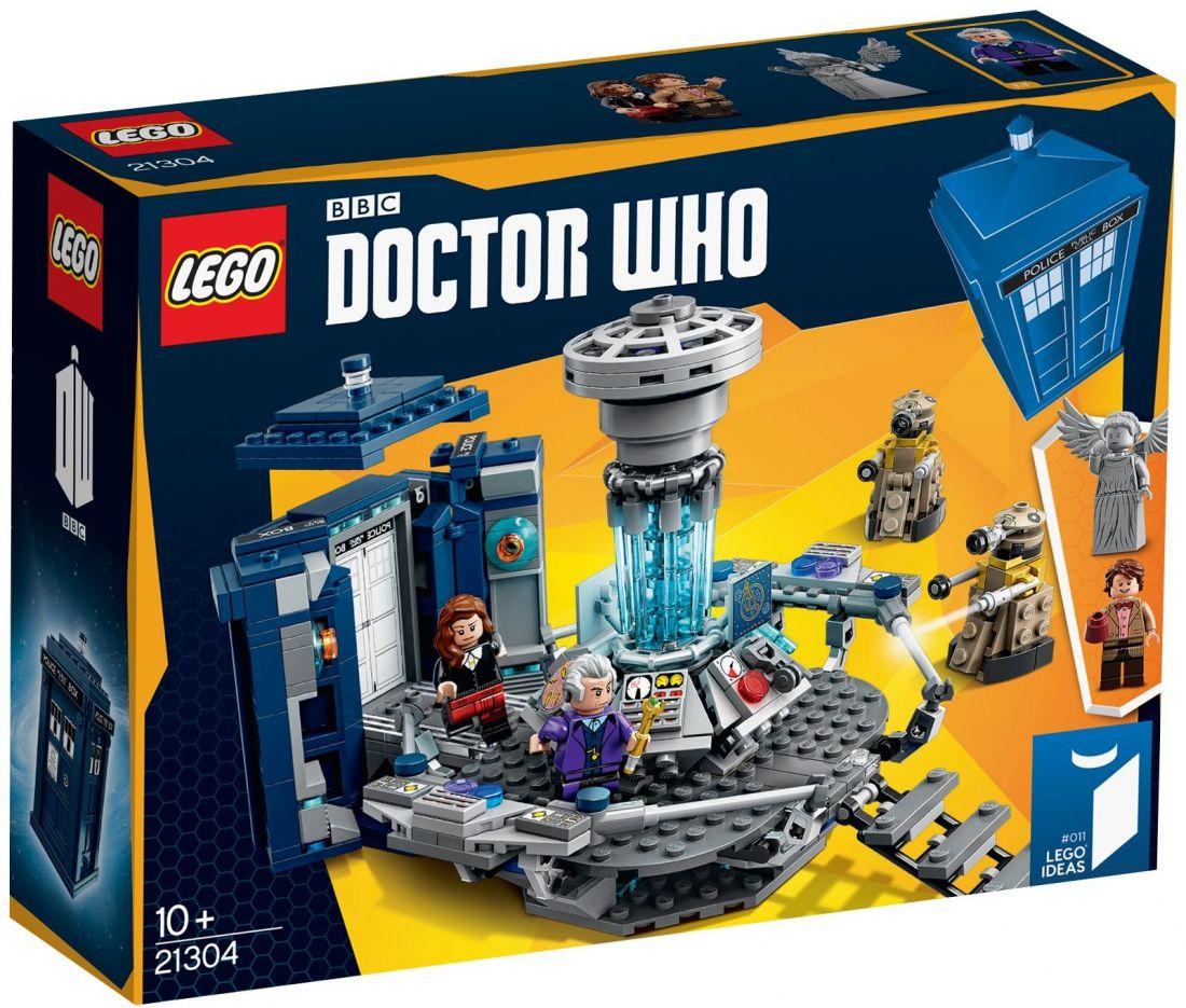 Конструктор Lego Ideas: Доктор Кто 21304