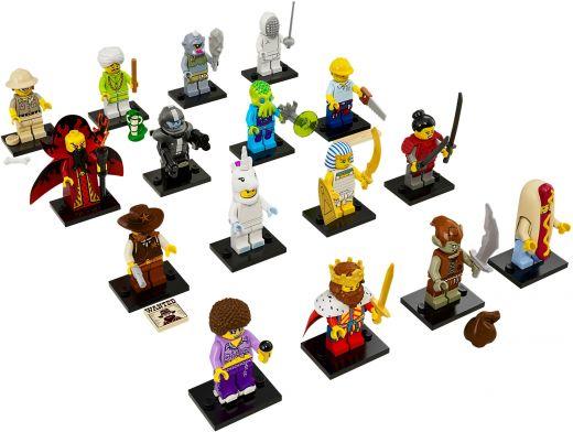 71008-17 Коллекционные Минифигурки 13 серии (Полный Комплект из 16 фигурок)