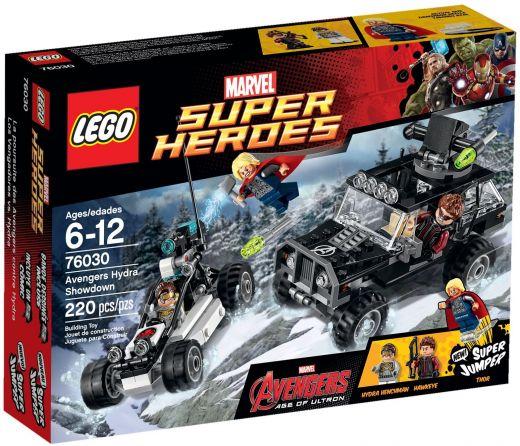 76030 Гидра против Мстителей Конструктор ЛЕГО Супергерои
