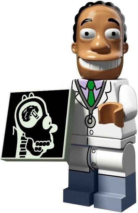 71009-16 Коллекционная Минифигурка Доктор Хибберт