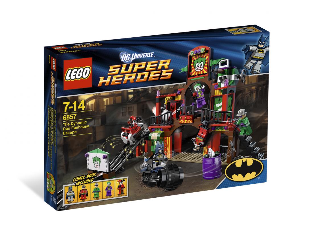 6857 Бэтмен: Двойной побег из комнаты смеха Конструктор ЛЕГО Супергерои