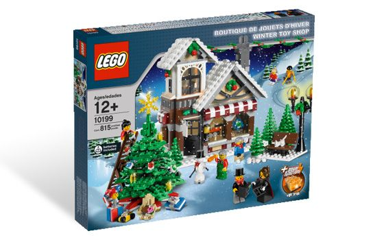 10199  Рождественский магазин игрушек [МЯТАЯ УПАКОВКА]
