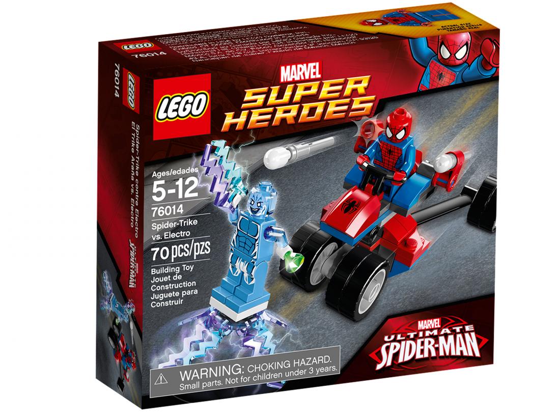 76014 Человек Паук: Спайдер-Трайк против Электро Конструктор ЛЕГО Супергерои