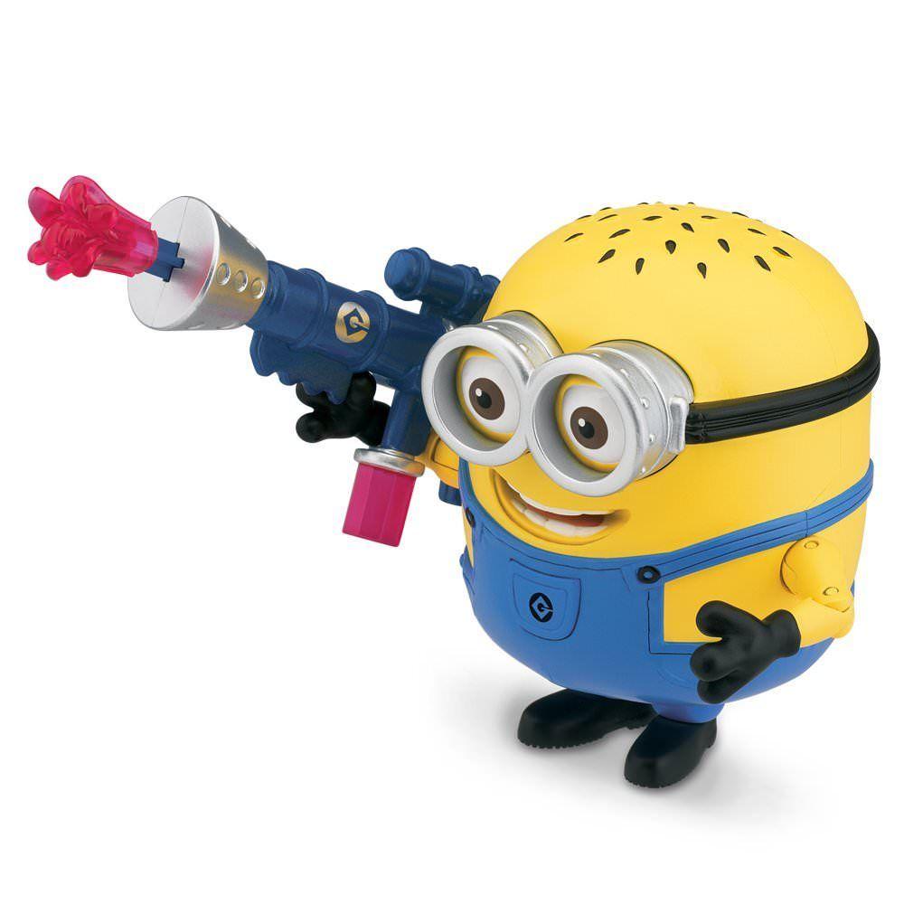 Игрушка Миньон Джери с бластером