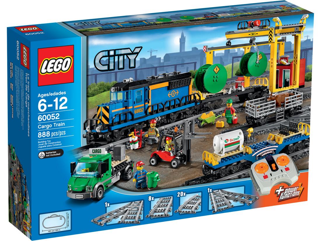 60052 Грузовой Поезд. Конструктор ЛЕГО Город Lego City