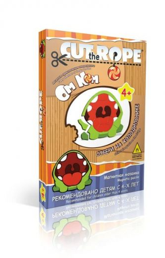 Магнитная мозаика Cut the Rope 28 дет.