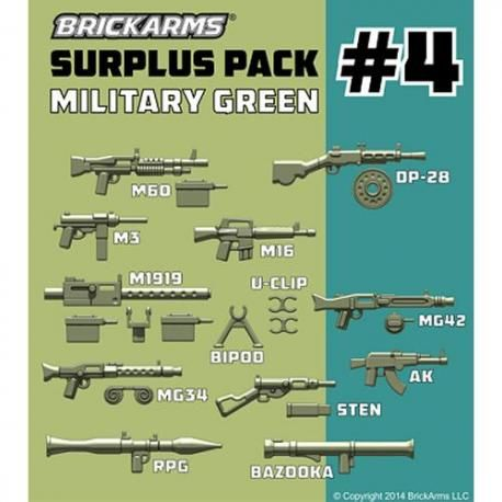 Surplus Pack #4 Military green