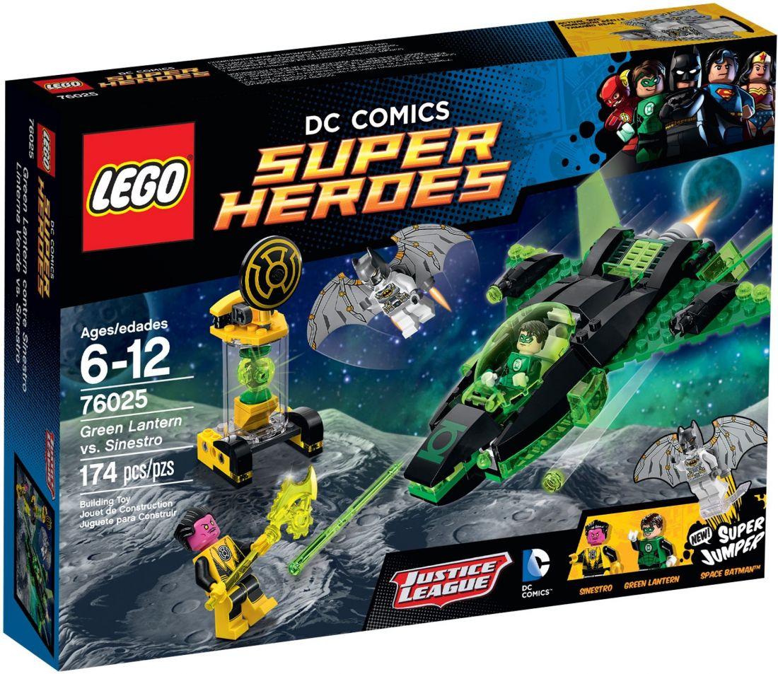 76025 Зелёный Фонарь против Синестро Конструктор ЛЕГО Супергерои