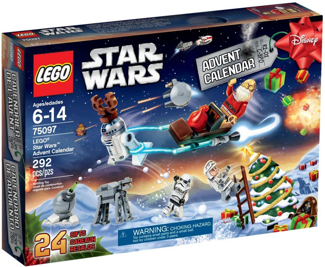 Рождественский календарь Звёздные войны 2015. Конструктор ЛЕГО 75097