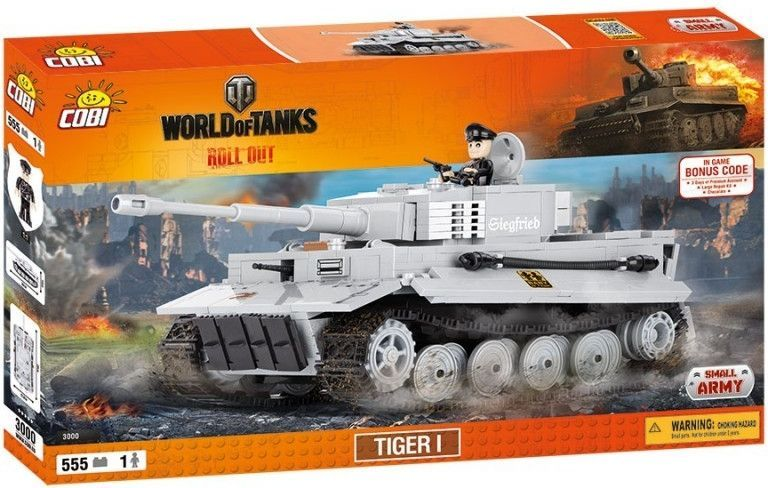 КОБИ World of Tanks - Танк Тигр 1 COBI-3000