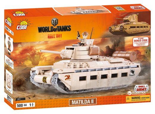КОБИ World of Tanks танк Matilda II COBI-3011